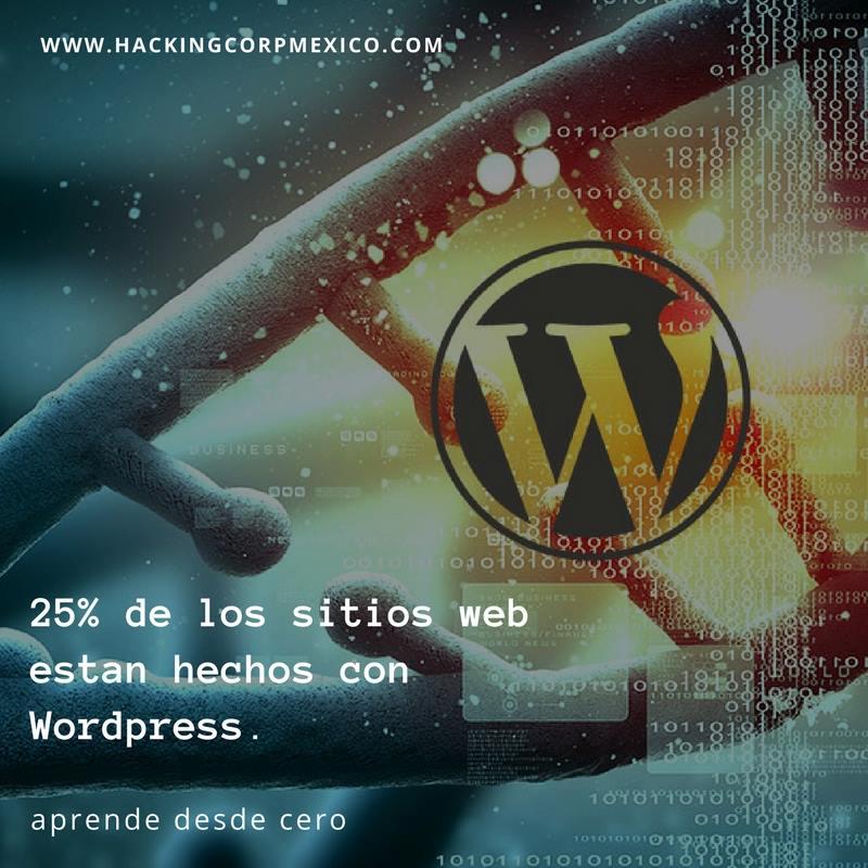 Curso de WordPress desde cero en Queretaro – HackMexico
